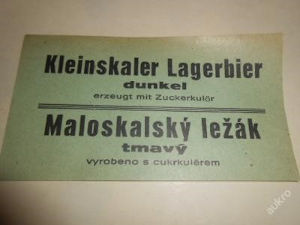 Maloskalské pivo